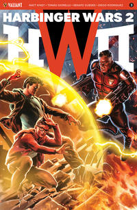 Cover Thumbnail for Harbinger Wars 2 (Valiant Entertainment, 2018 series) #3 [Cover D - Felipe Massafera]