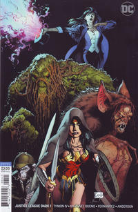 Cover Thumbnail for Justice League Dark (DC, 2018 series) #1 [Greg Capullo & Jonathan Glapion Variant Cover]