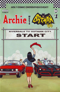 Cover Thumbnail for Archie Meets Batman '66 (Archie, 2018 series) #1 [Cover F Ty Templeton]