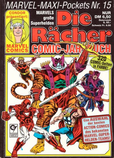 Cover for Marvel-Maxi-Pockets (Condor, 1980 series) #15