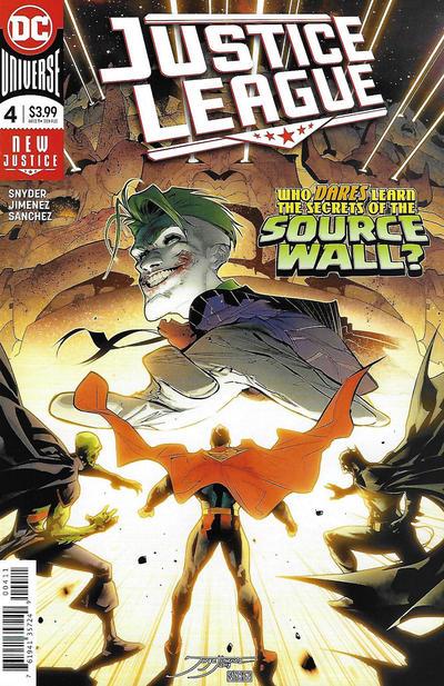 Cover for Justice League (DC, 2018 series) #4 [Jorge Jimenez Cover]