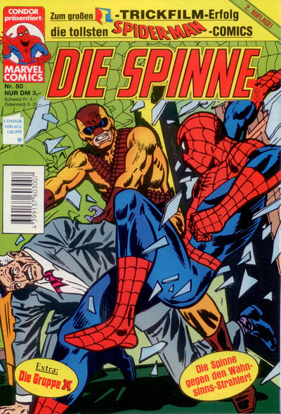 Cover for Die Spinne (Condor, 1987 series) #50