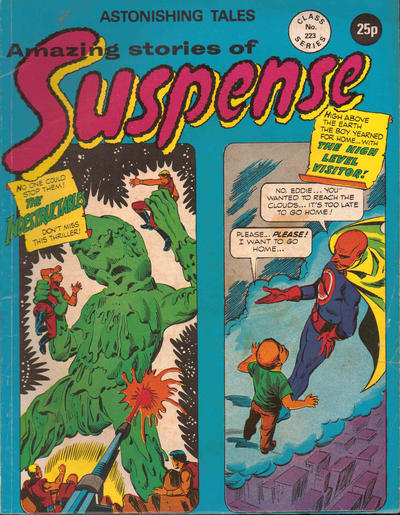 Cover for Amazing Stories of Suspense (Alan Class, 1963 series) #223