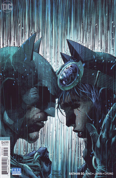 Cover for Batman (DC, 2016 series) #50 [Mikel Janín Cover]