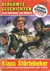 Cover for Berühmte Geschichten Doppelband (Bastei Verlag, 1971 series) #1 - Klaus Störtebeker