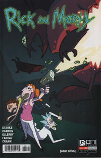 Cover for Rick and Morty (Oni Press, 2015 series) #23 [Retail Cover]