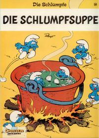 Cover Thumbnail for Die Schlümpfe (Carlsen Comics [DE], 1996 series) #10 - Die Schlumpf-Suppe