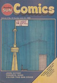 Cover Thumbnail for Sunday Sun Comics (Toronto Sun, 1977 series) #v3#32