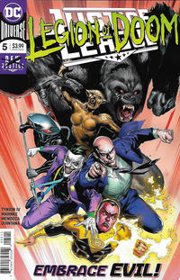Cover Thumbnail for Justice League (DC, 2018 series) #5 [Doug Mahnke & Jaime Mendoza Cover]
