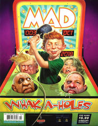 Cover Thumbnail for Mad (EC, 2018 series) #3