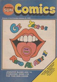 Cover Thumbnail for Sunday Sun Comics (Toronto Sun, 1977 series) #v3#8