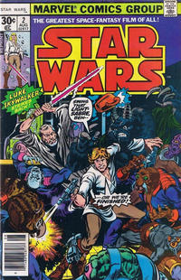 Cover Thumbnail for Star Wars (Marvel, 1977 series) #2 [Reprint Edition]