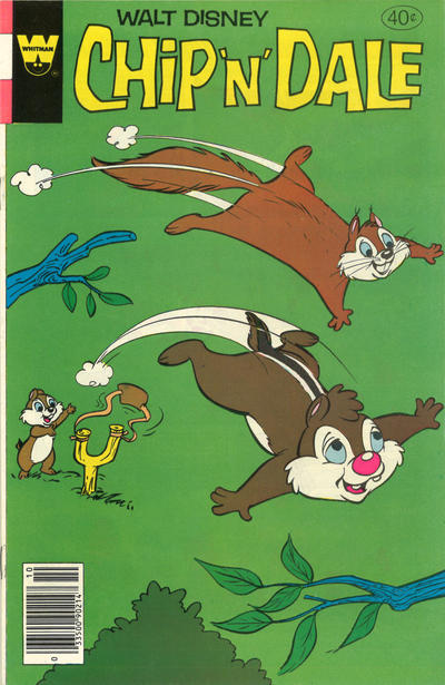 Cover for Walt Disney Chip 'n' Dale (Western, 1967 series) #62 [Gold Key]