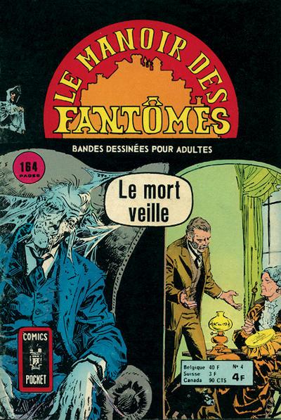 Cover for Le Manoir des Fantômes (Arédit-Artima, 1975 series) #4