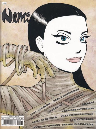 Cover for Nemi (Gyldendal Norsk Forlag, 2018 series) #165