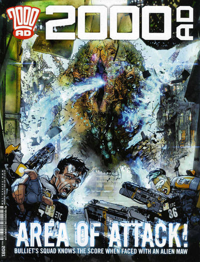 Cover for 2000 AD (Rebellion, 2001 series) #2091