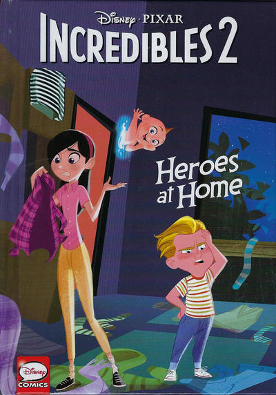 Cover for Incredibles 2: Heroes at Home (Dark Horse, 2018 series)