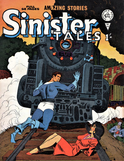 Cover for Sinister Tales (Alan Class, 1964 series) #68