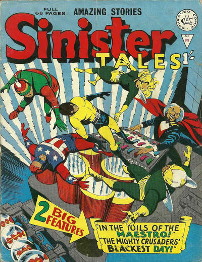 Cover for Sinister Tales (Alan Class, 1964 series) #89