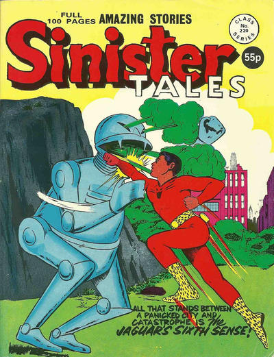 Cover for Sinister Tales (Alan Class, 1964 series) #220