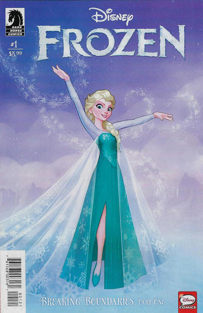 Cover for Frozen: Breaking Boundaries (Dark Horse, 2018 series) #1 [Variant Cover - Eduardo Francisco & Amanda Duarte]