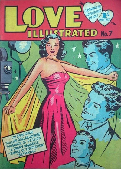 Cover for Love Illustrated (Young's Merchandising Company, 1951 series) #7