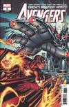 Cover for Avengers (Marvel, 2018 series) #5 (695)