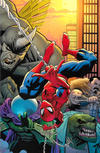 Cover Thumbnail for Amazing Spider-Man (2018 series) #1 (802) [Variant Edition - Ryan Ottley Virgin Wraparound Cover]