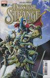 Cover for Doctor Strange (Marvel, 2018 series) #2 [Jesús Saiz]