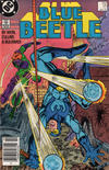 Cover Thumbnail for Blue Beetle (1986 series) #17 [Newsstand]