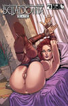 Cover Thumbnail for Belladonna: Fire and Fury (2017 series) #8 [Shield Maiden Nude Cover]