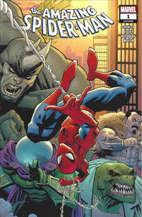 Cover Thumbnail for Amazing Spider-Man (Marvel, 2018 series) #1 (802) [Regular Edition - Ryan Ottley Wraparound Cover]
