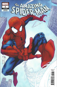 Cover Thumbnail for Amazing Spider-Man (Marvel, 2018 series) #1 (802) [Variant Edition - Shane Davis Cover]