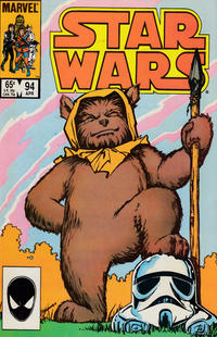 Cover Thumbnail for Star Wars (Marvel, 1977 series) #94 [Direct]