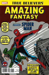 Cover Thumbnail for True Believers: Amazing Fantasy Starring Spider-Man (Marvel, 2017 series) #1