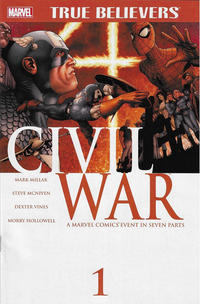 Cover Thumbnail for True Believers: Civil War (Marvel, 2015 series)