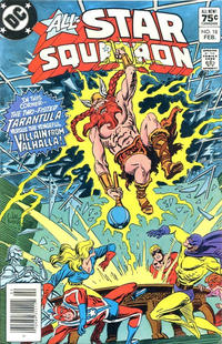 Cover Thumbnail for All-Star Squadron (DC, 1981 series) #18 [Canadian]