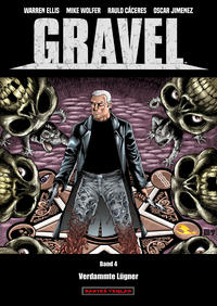 Cover Thumbnail for Gravel (Dantes Verlag, 2017 series) #4 - Verdammte Lügner