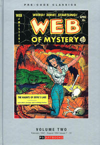 Cover Thumbnail for Pre-Code Classics: Web of Mystery (PS, 2018 series) #2