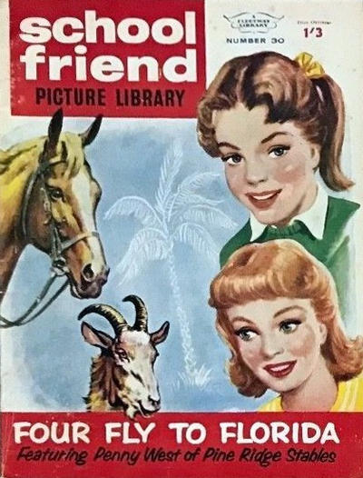 Cover for School Friend Picture Library (Amalgamated Press, 1962 series) #30