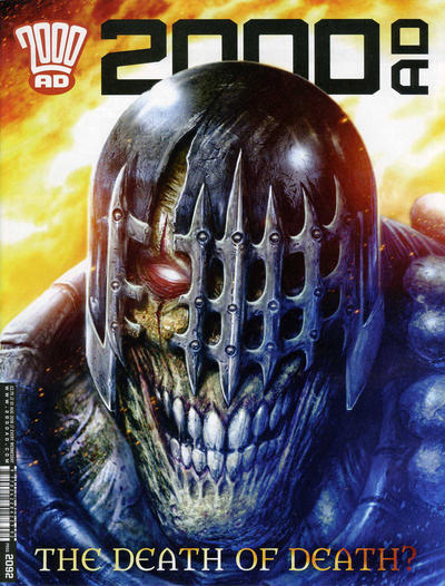 Cover for 2000 AD (Rebellion, 2001 series) #2092