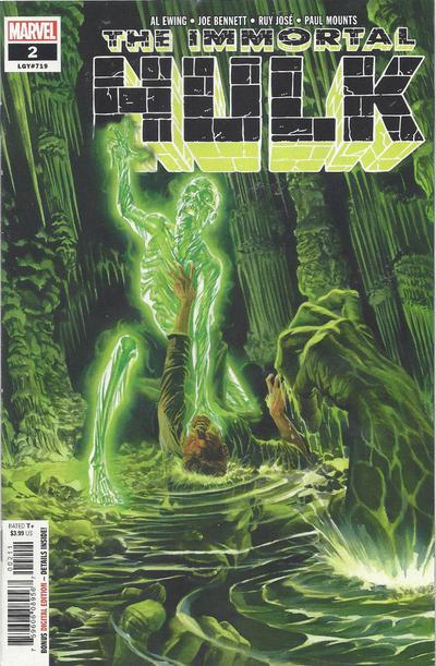 Marvel Comics THE IMMORTAL HULK #2 fifth printing