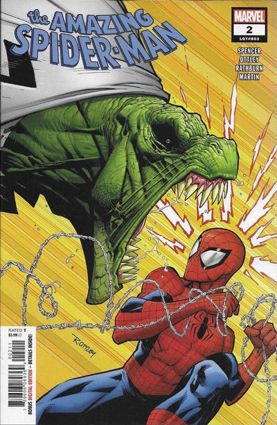 Cover for Amazing Spider-Man (Marvel, 2018 series) #2 (803) [Variant Edition - Second Printing - Ryan Ottley Cover]