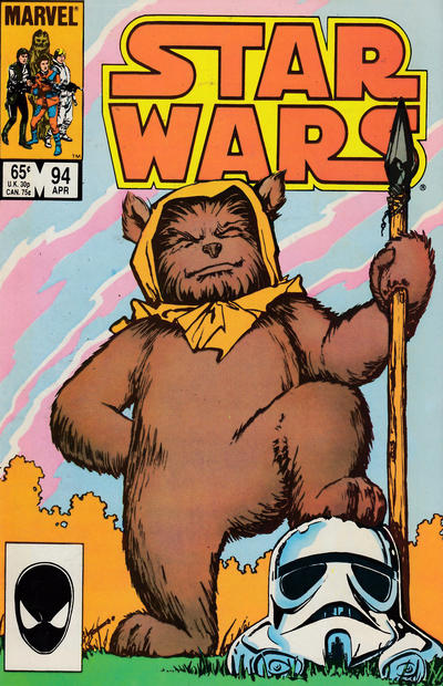 Cover for Star Wars (Marvel, 1977 series) #94 [Newsstand]