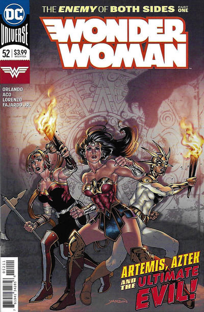 Cover for Wonder Woman (DC, 2016 series) #52 [David Yardin Cover]