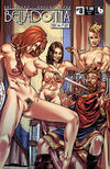 Cover for Belladonna: Fire and Fury (Avatar Press, 2017 series) #8 [Deposed Nude Cover]
