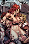 Cover for Belladonna: Fire and Fury (Avatar Press, 2017 series) #8 [Viking Vixen Nude Cover]