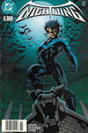 Cover for Nightwing (DC, 1996 series) #2 [Newsstand]