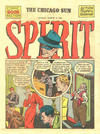 Cover for The Spirit (Register and Tribune Syndicate, 1940 series) #3/4/1945 [Chicago Sun Edition]