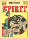 Cover for The Spirit (Register and Tribune Syndicate, 1940 series) #8/12/1945 [Philadelphia Record Edition]